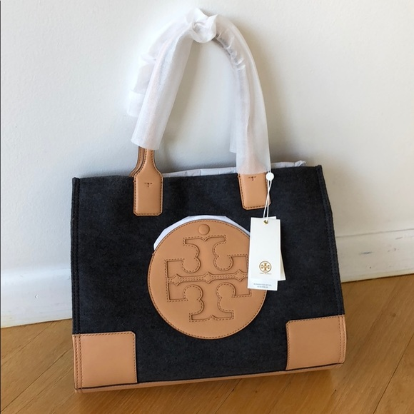3d6be88d384f NWT Tory Burch Authentic Ella Flannel Tote